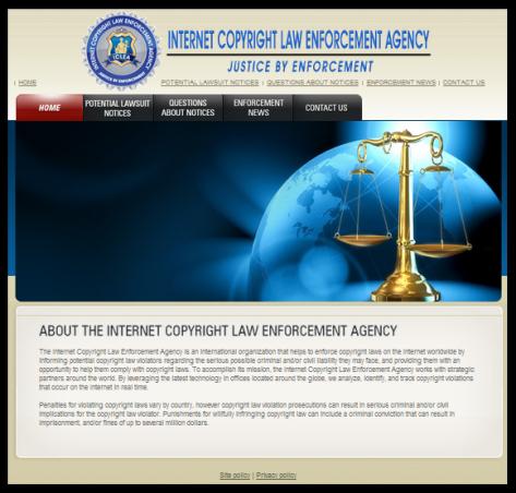 Internet Copyright Law Enforcement Agency
