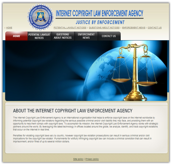 Internet Copyright Law Enforcement Agency
